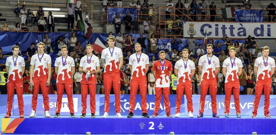Polscy siatkarze zdobyli srebrny medal na 30. Letniej Uniwersjadzie