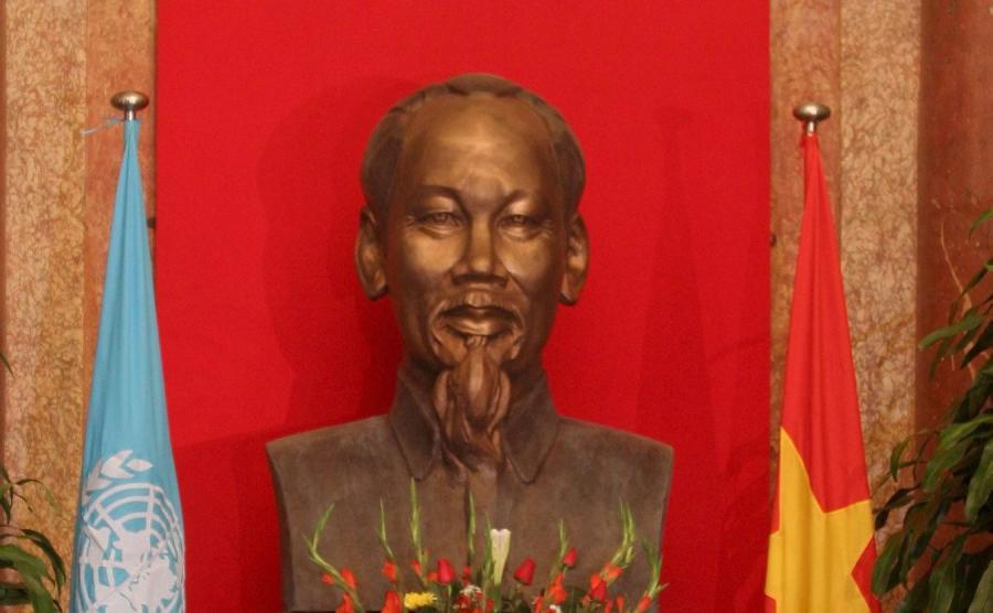 Popiersie Ho Chi Minha