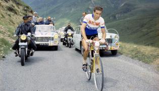 Federico Bahamontes podczas Tour de France w 1962 roku