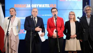 Schetyna ogłasza jedynki na listach wyborczych