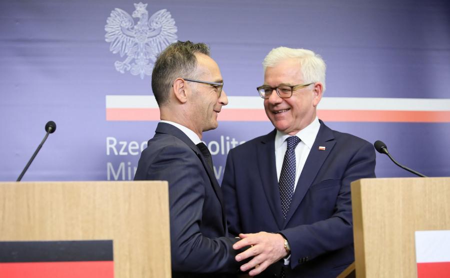 Heiko Maas, Jacek Czaputowicz