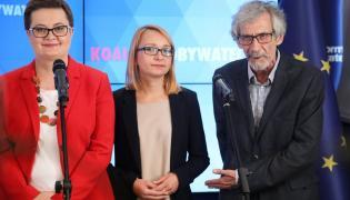 Katarzyna Lubnauer, Małgorzata Tracz, Marek Kossakowski