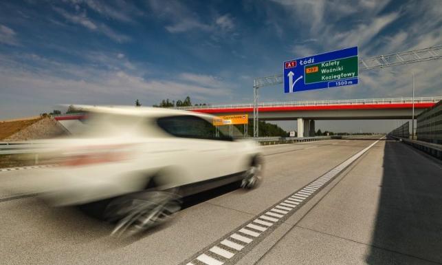 Autostrada A1 dłuższa o nowy odcinek. Od dziś kierowcy pomkną z Warszawy do Katowic [MAPA]
