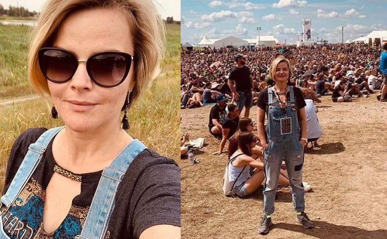 Monika Zamachowska na festiwalu Pol\'and\'Rock
