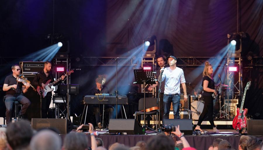 Koncert Pablopavo na Off Festivalu