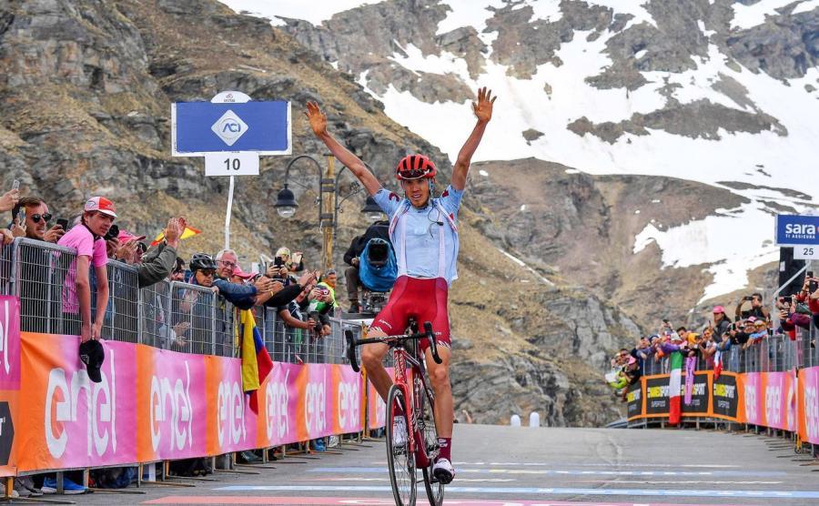 Etapowe zwycięstwo Zakarina w tegorocznym Giro d\'Italia