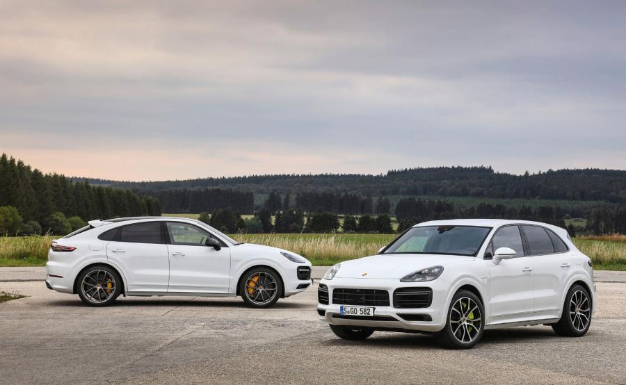 Porsche Cayenne Turbo S E-Hybrid Coupe i Cayenne Turbo S E-Hybrid