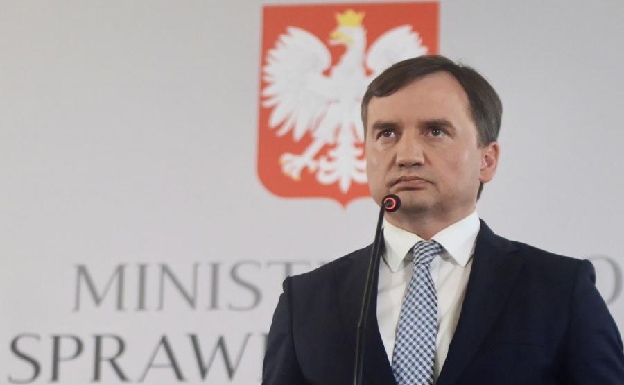 Zbigniew Ziobro Minister Sprawiedliwości