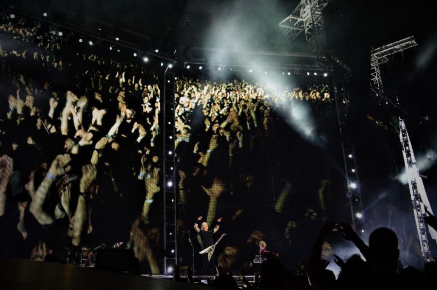 James Hetfield. Koncert zespołu Metallica 21.08.2019