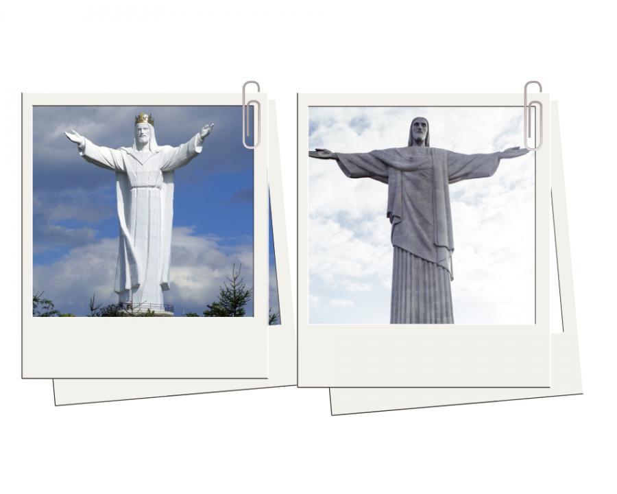 4. Świebodzin - widoki jak w Rio de Janeiro