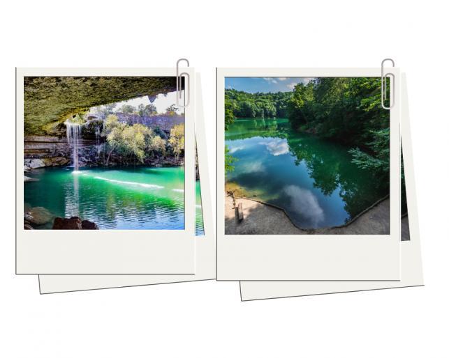 5. Jezioro Szmaragdowe w Szczecinie - niczym teksański Hamilton Pool