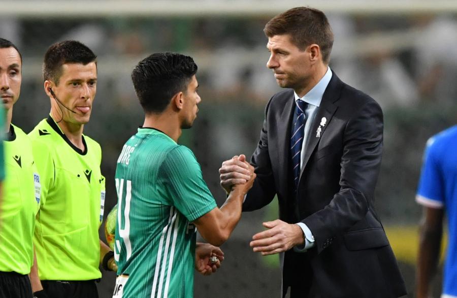 Steven Gerrard po meczu z Legią Warszawa