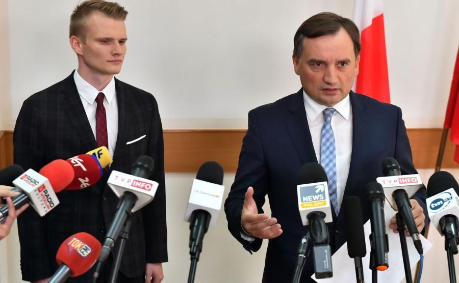 Sukces prokuratury i policji ogłosił minister sprawiedliwości