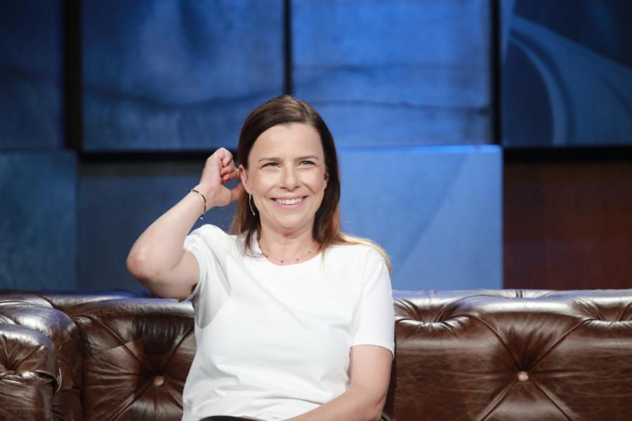 Agata Kulesza u Kuby Wojewódzkiego
