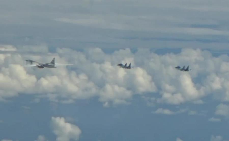 Rosyjskie bombowce Tu-160 przechwycone przez samoloty NATO