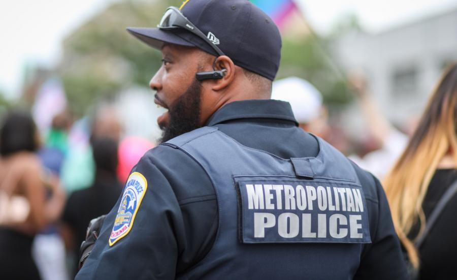 Policjant USA Waszyngton