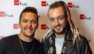 Tomek Torres oraz Aleksander Milwil-Baron z zespołu Afromental