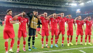 Piłkarze reprezentacji Turcji