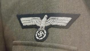 Naszywka na mundurze SS
