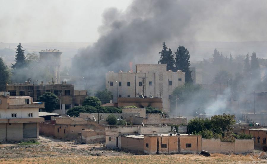 Dym w Syrii