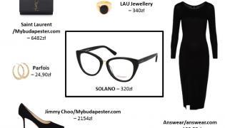 Modne kocie okulary