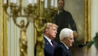 Donald Trump i Sergio Matarella