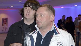 Kamil Durczok z synem