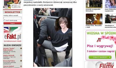 Zac Efron pokazał światu majtki