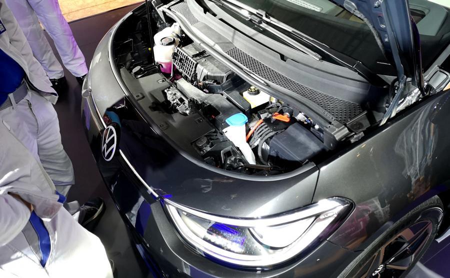 Volkswagen ID.3 jest autem tylnonapędowym (silnik elektryczny został zintegrowany z osią)