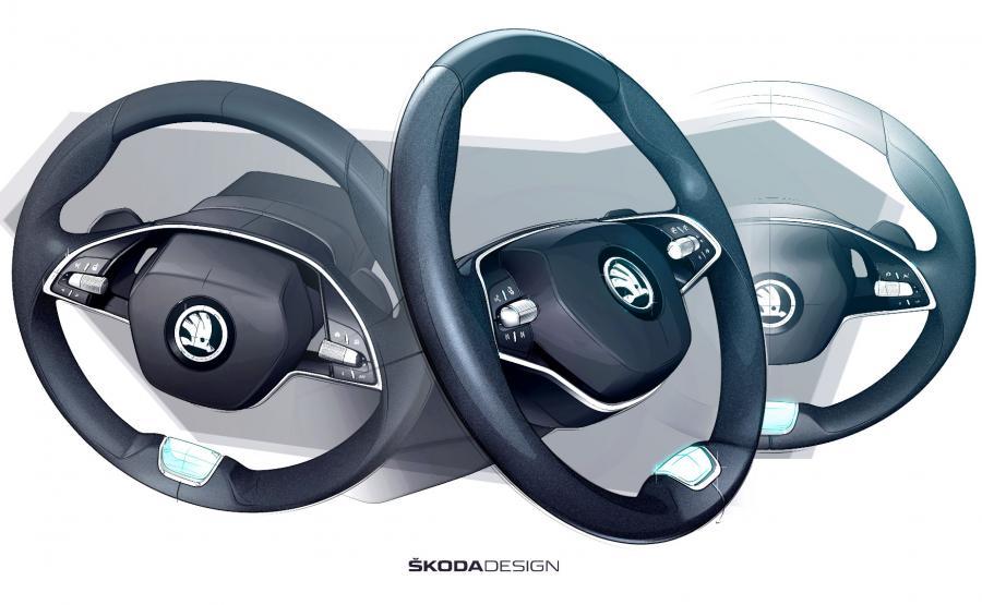 Dwuramienna kierownica ma sprawić, że człowiek za kółkiem poczuje się jak w aucie z wyższej półki