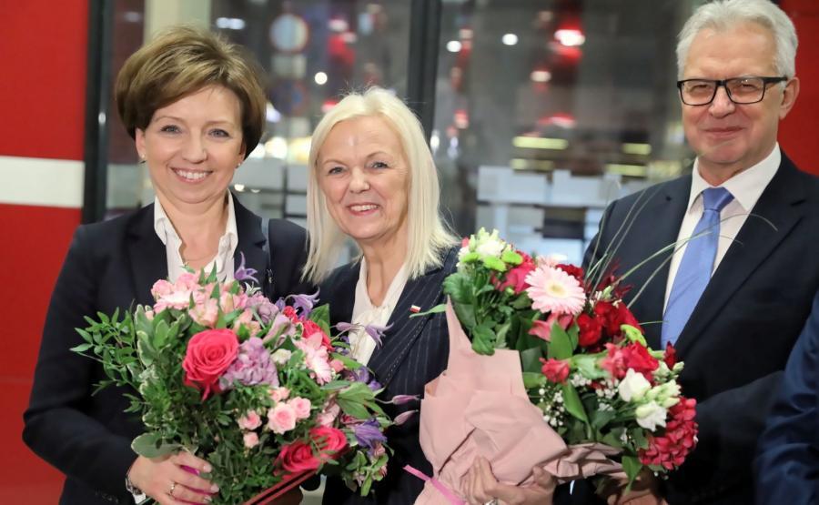 Bożena Borys-Szopa, Marlena Maląg, Krzysztof Michałkiewicz