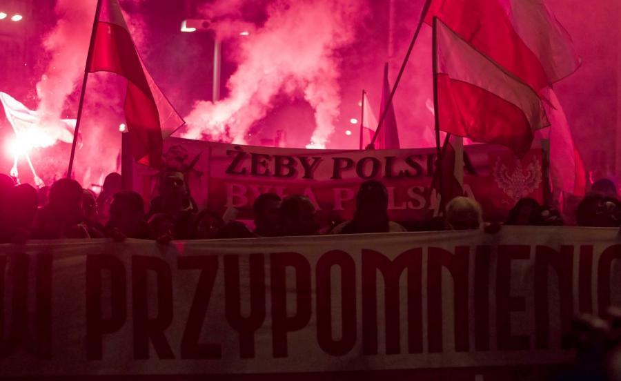 Marsz Niepodległości we Wrocławiu