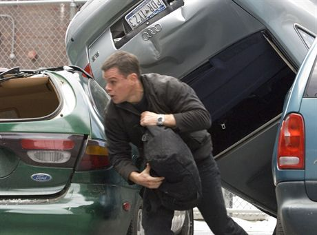 MATT DAMON is Jason Bourne in the espionage thriller that takes Bourne back home: \