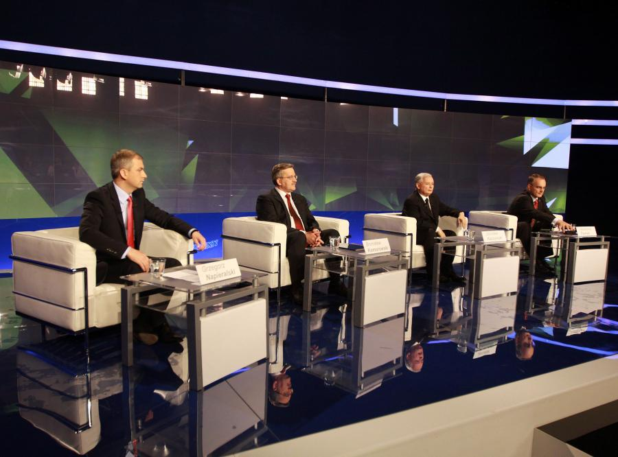 Wielka debata czterech kandydatów
