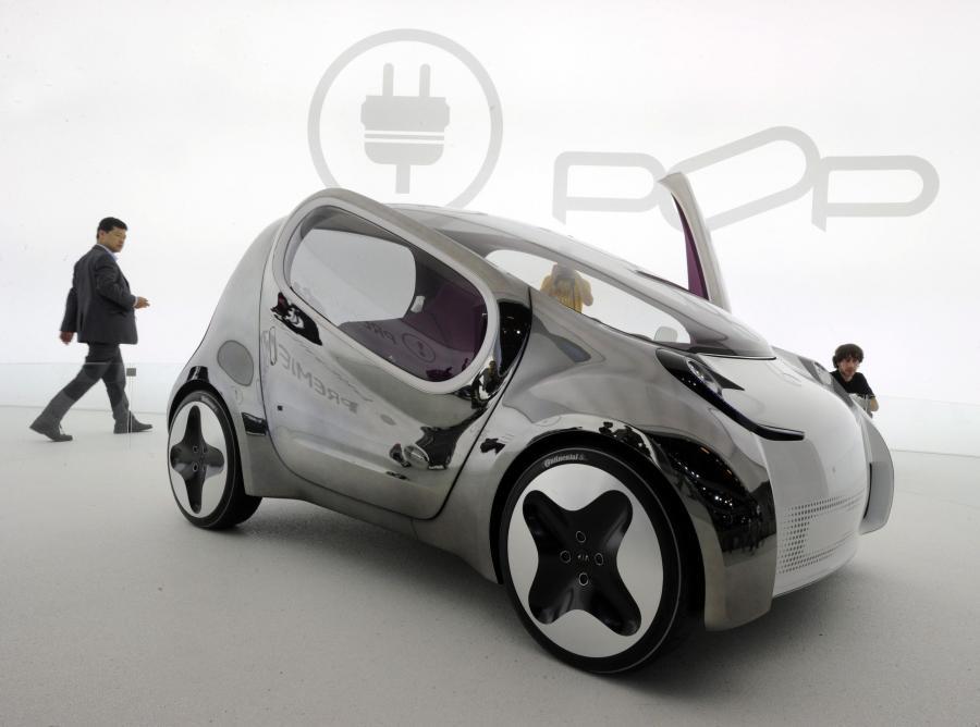 Prezentacja elektrycznego auta Kia Pop