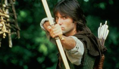 """Michael Pread jako """"Robin Hood"""""""