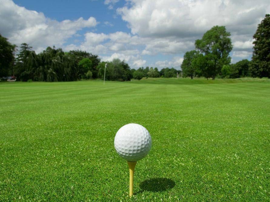 Basler przegrał na polu golfowym