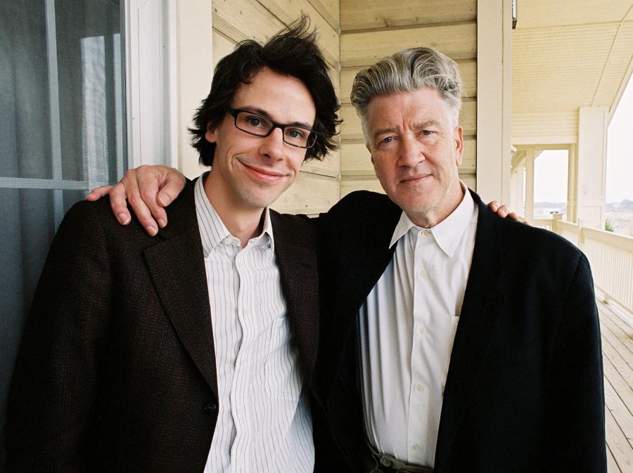 David Sieveking i jego idol David Lynch