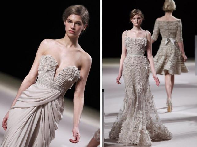 Kobiecość w puderniczce: Elie Saab na paryskim haute couture