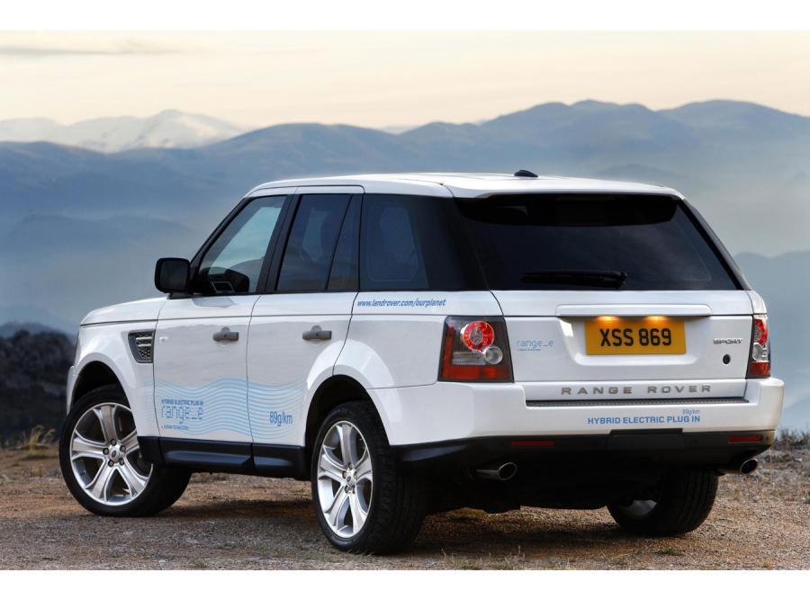 Range_e, czyli pierwszy taki Land Rover w Genewie