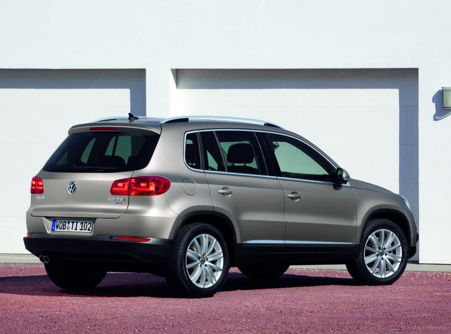Volkswagen tiguan - nowy wygląd, nowe silniki