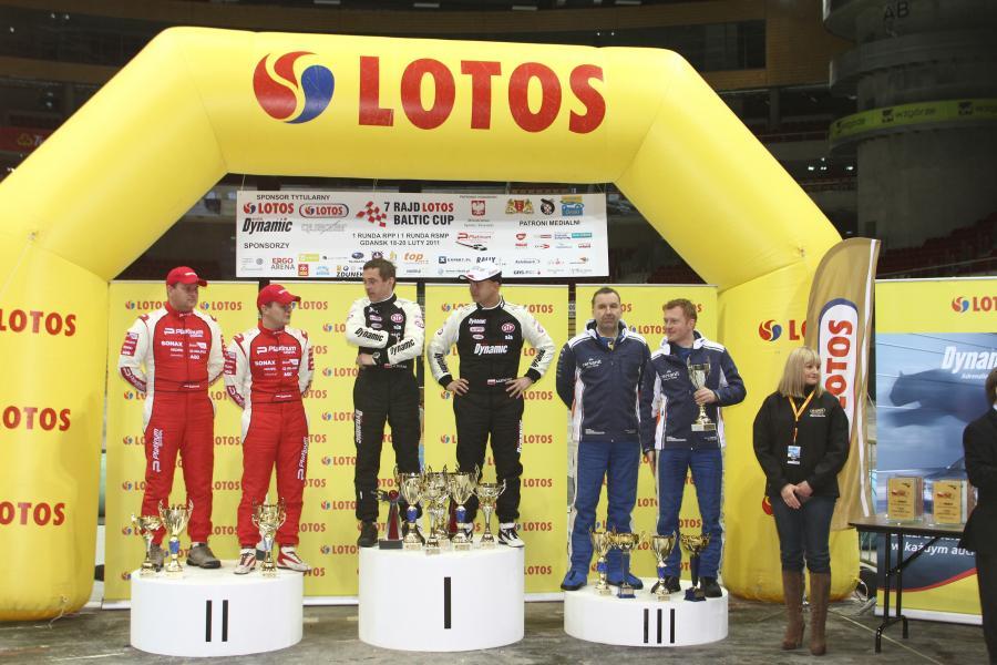 W punktacji rajdowych samochodowych mistrzostw Polski prowadzi Kajetanowicz - 39 pkt, przed Bębenkiem - 37 pkt i Sołowowem - 31 pkt.