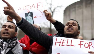 Antyrządowe zamieszki w Libii