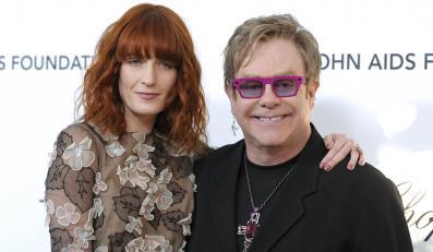 Florence Welch i Elton John dobrze karmili i świetnie śpiewali