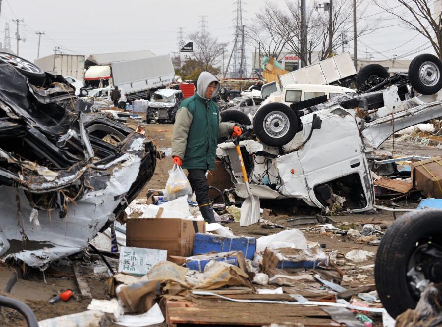 Znów silne trzęsienie ziemi w Japonii