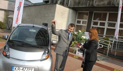 i-MiEV dla biura rozwoju Krakowa