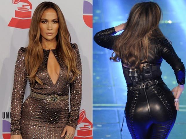 Mistrzyni seksownych kształtów: Jennifer Lopez