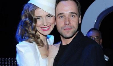 Łukasz Nowicki z żoną Haliną