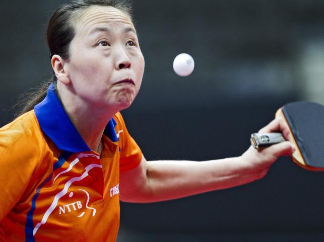 Zawodniczka z Holandii Li Jiao