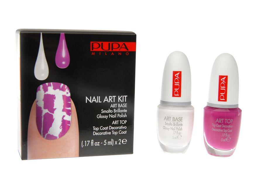 Pupa Nail Art Kit ma dawać efekt \